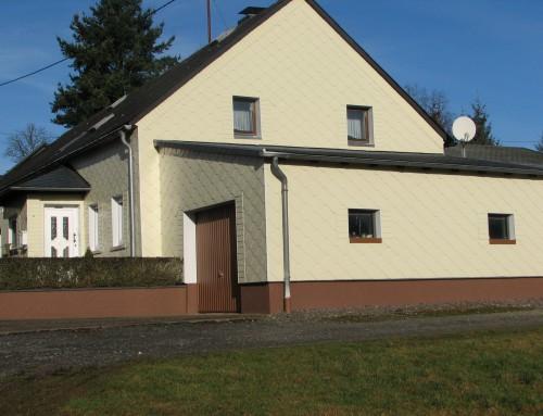 Fassade in Malborn-Thiergarten