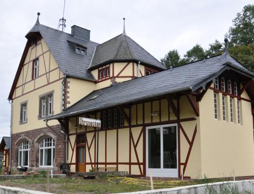 Historischer Bahnhof Dhronecken