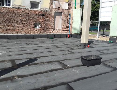 Bauwerks-Abdichtung, Bodenplatte